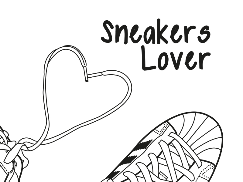 illustration meganvlt sneakers