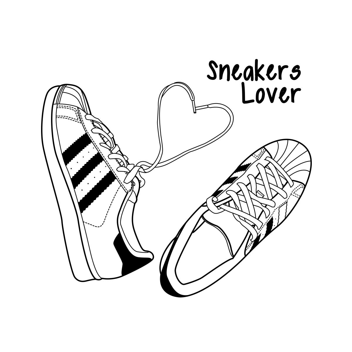 illustration meganvlt sneakers