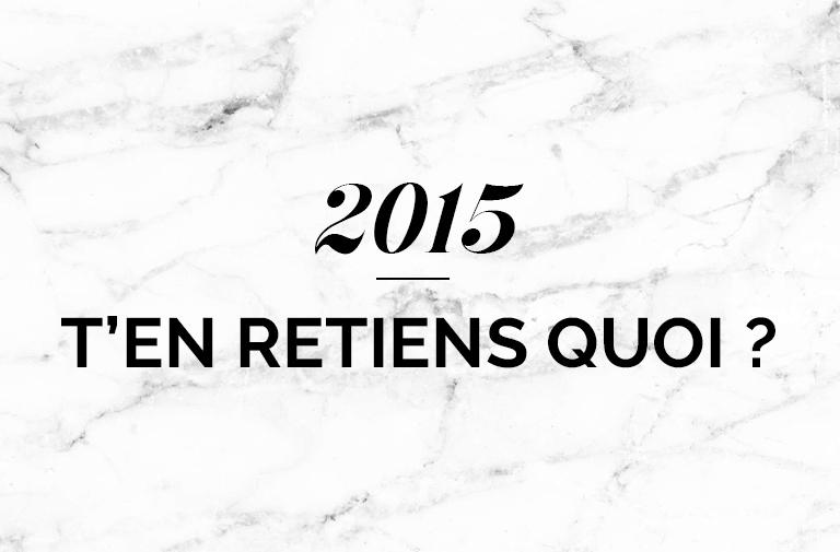 2015 année de changement