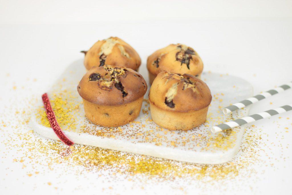 Muffins nutella pépite