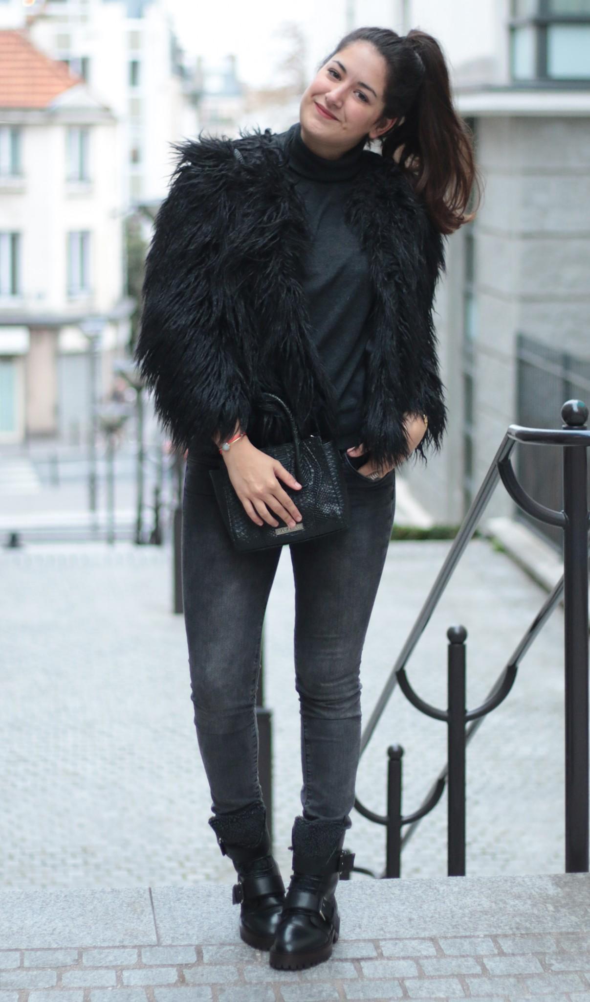 Mode femme manteau fourrure ♥ www.meganvlt.com