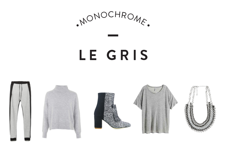 monochrome gris article