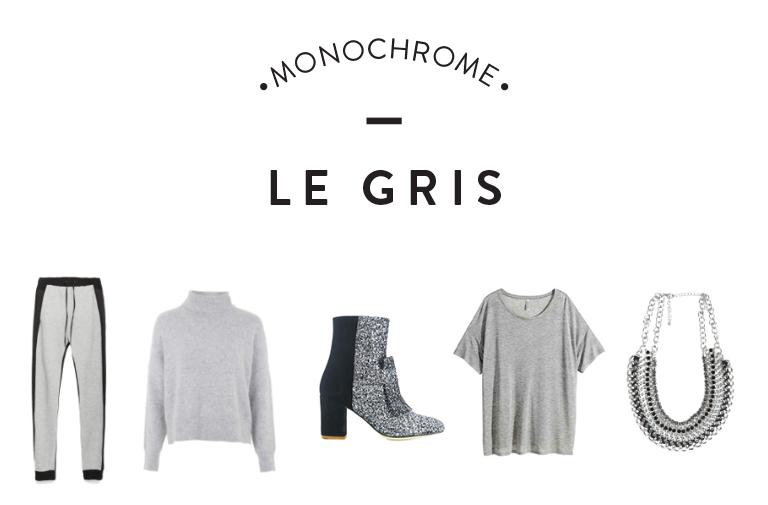 Mode – Tendance Monochrome : Le gris