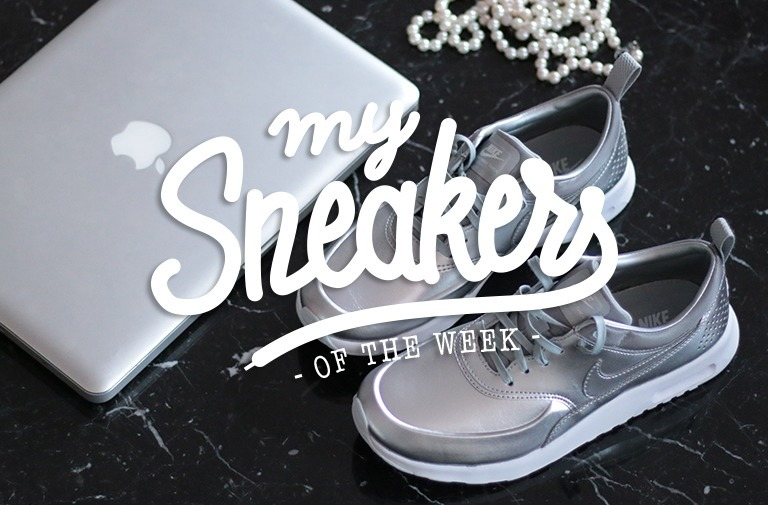 Air Max Thea metallic silver Sneakers – MySneakersOfTheWeek #3