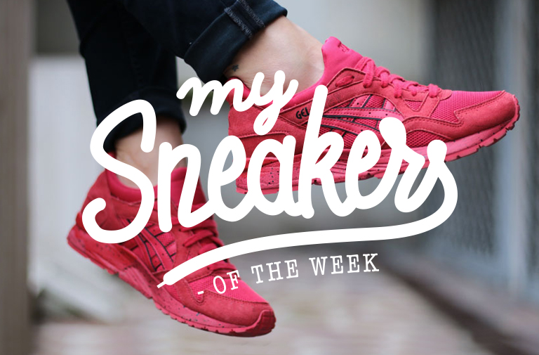 Asics gel lyte V Red – MySneakersOfTheWeek #4