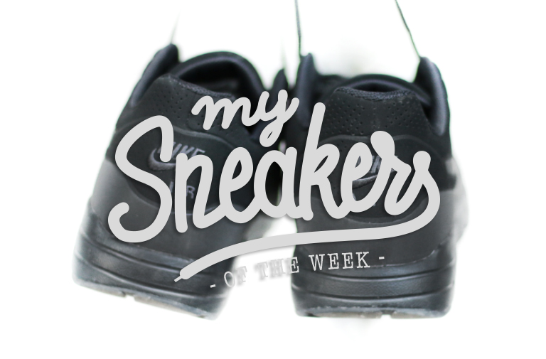 Air Max 1 Ultra Moire Sneakers Black Nike  – MySneakersOfTheWeek #6