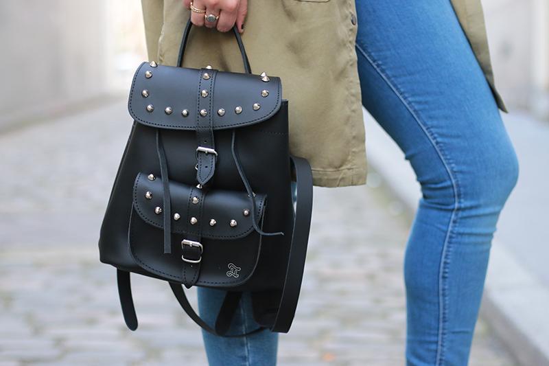 Surchemise Zara + denim asos + bag grafea + heel Sante shoes by meganvlt.com