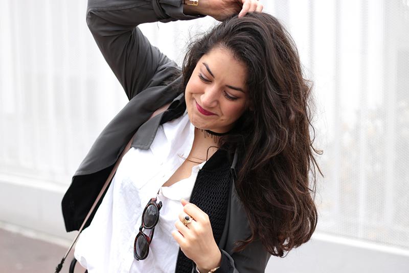 Denim Salsa - Trench fluide Zara - Shoes what for - meganvlt