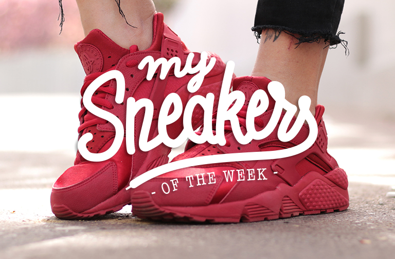 Red Huarache – Nike – MYSNEAKERSOFTHEWEEK #7