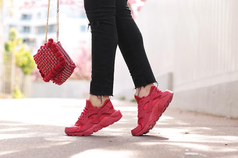 sneakers blog femme huarache