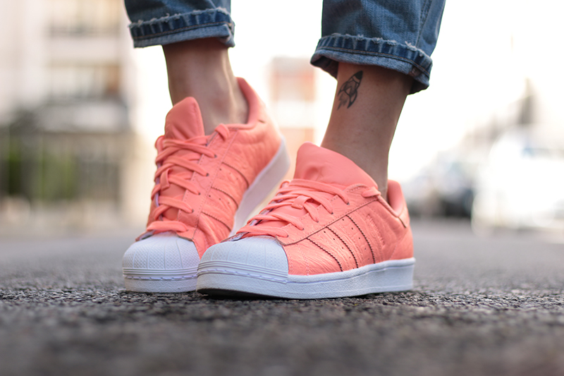 adidas superstar saumon