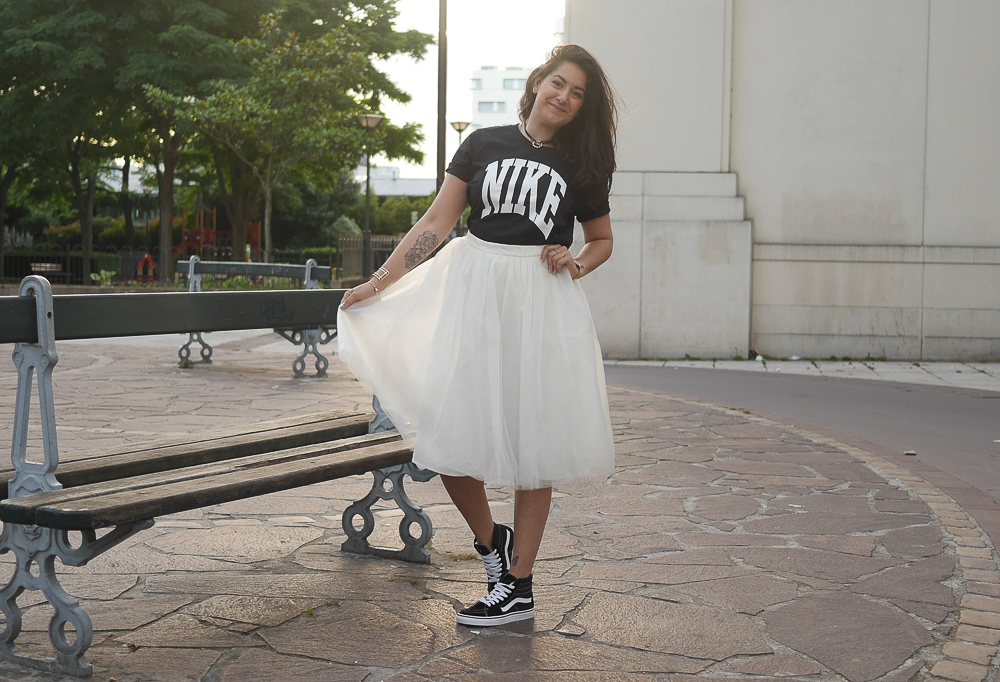 blog mode - sneakers vans + tutu - meganvlt