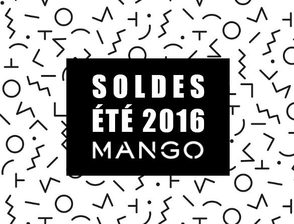 sélection soldes mango