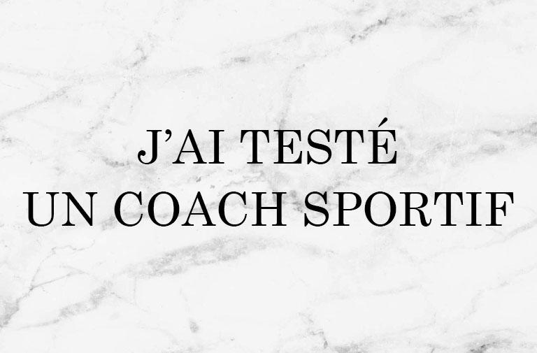J'ai testé Coach Form Challenge avec Didier Herzog !