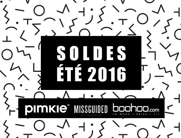Nouvelle sélection SOLDES 2016 sur Pimkie, Boohoo & Missguided