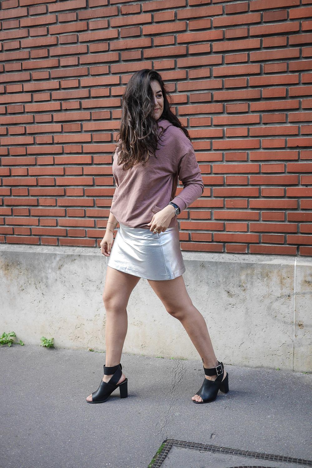 Silver skirt meganvlt