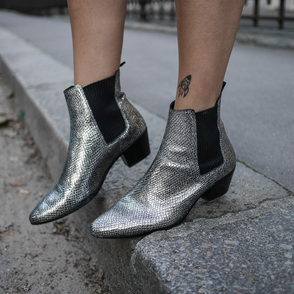 pull oversized - boots maje - megan vlt - meganvlt