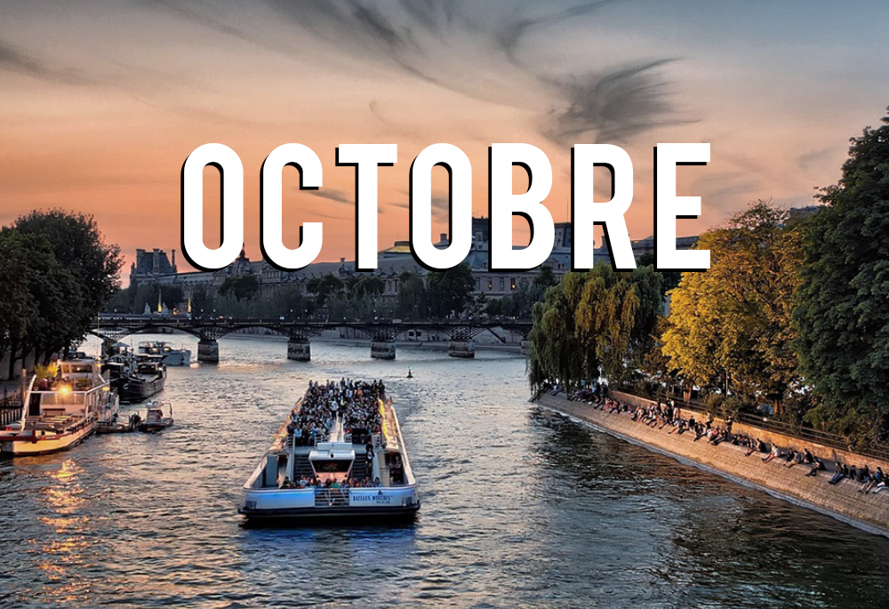 que faire à paris en octobre