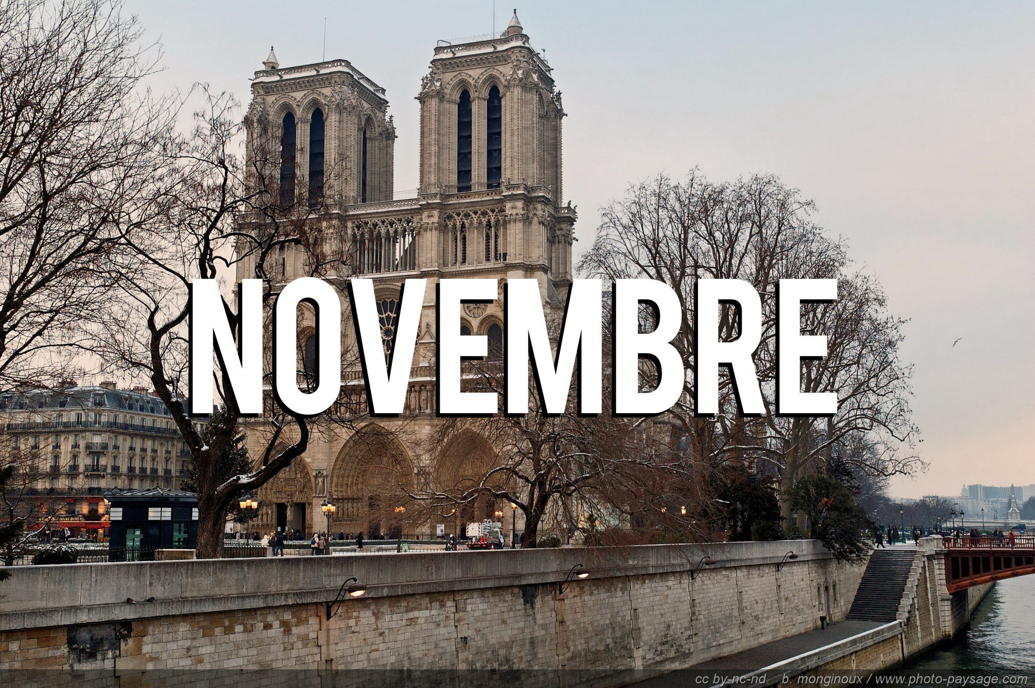 que faire à paris novembre
