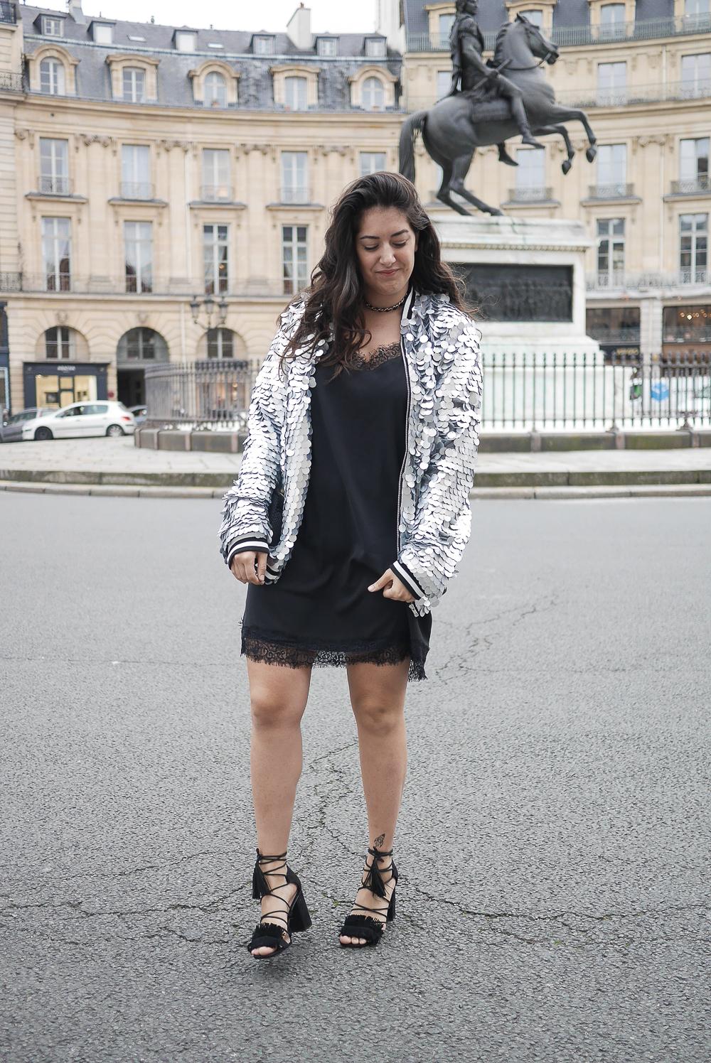 petite robe noire veste sequins asospetite robe noire veste sequins asos