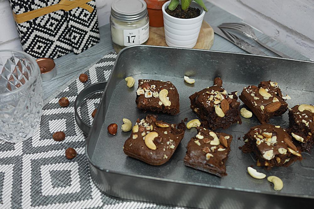 Recette : Brownies sans gluten au sarrazin