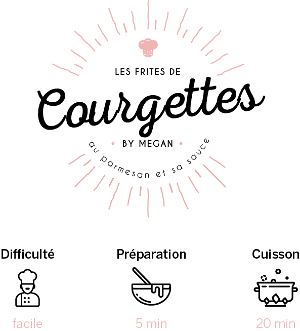 recette courgette frites