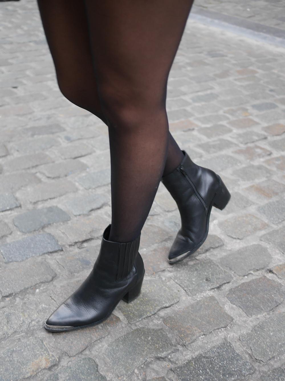 blog mode - jupe clous boots santiags meganvlt