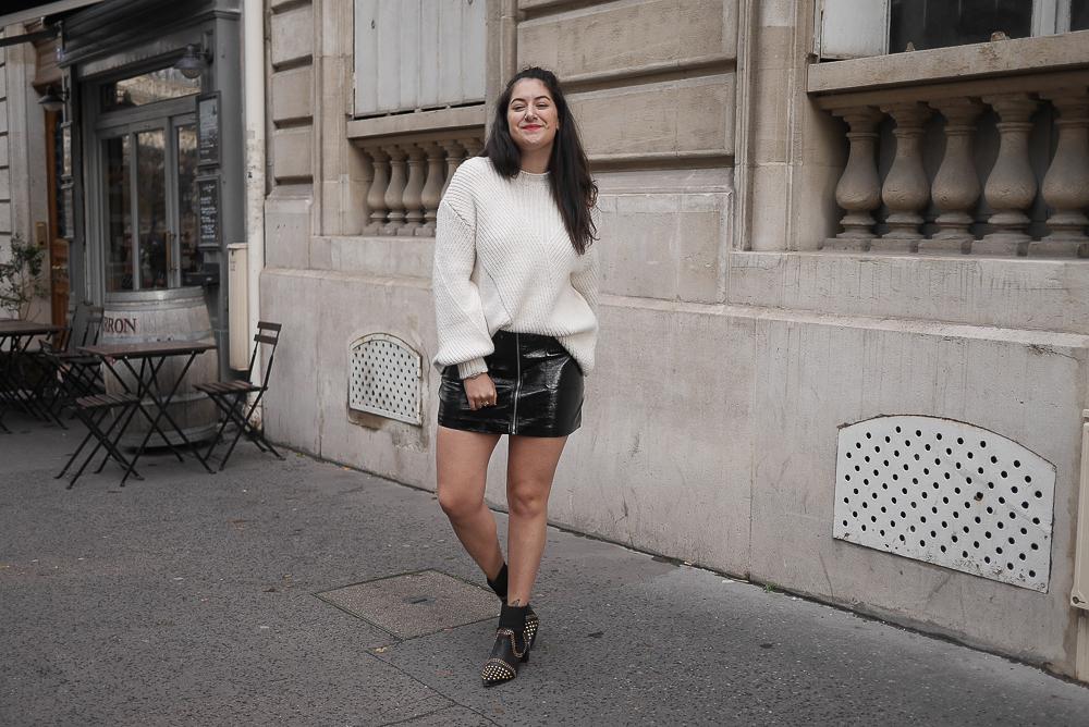 jupe vinyl boots studs clous pull doudou meganvlt-6