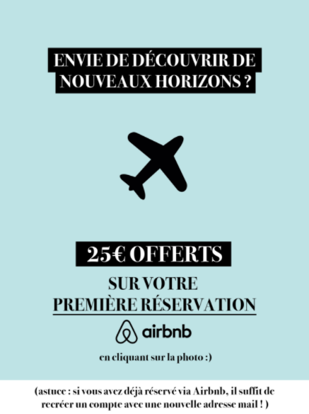code promo Airbnb reduction