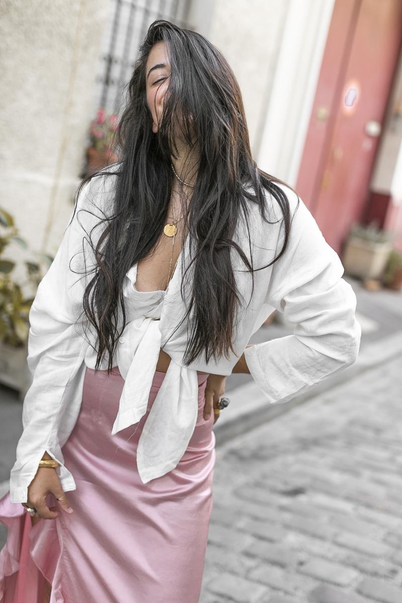 jupe-satin-rose-chemise-nouee-meganvlt-blog-mode-2