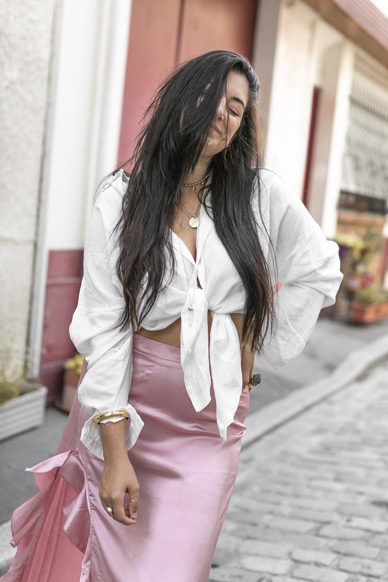jupe-satin-rose-chemise-nouee-meganvlt-blog-mode-3