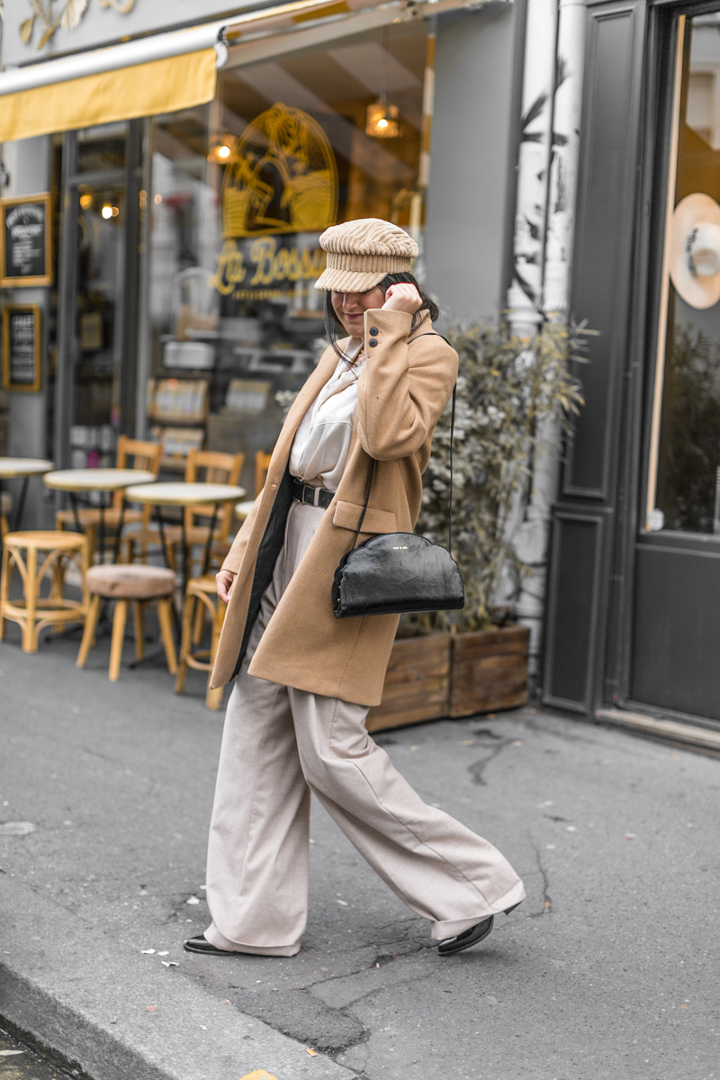 Look d'automne & long manteau