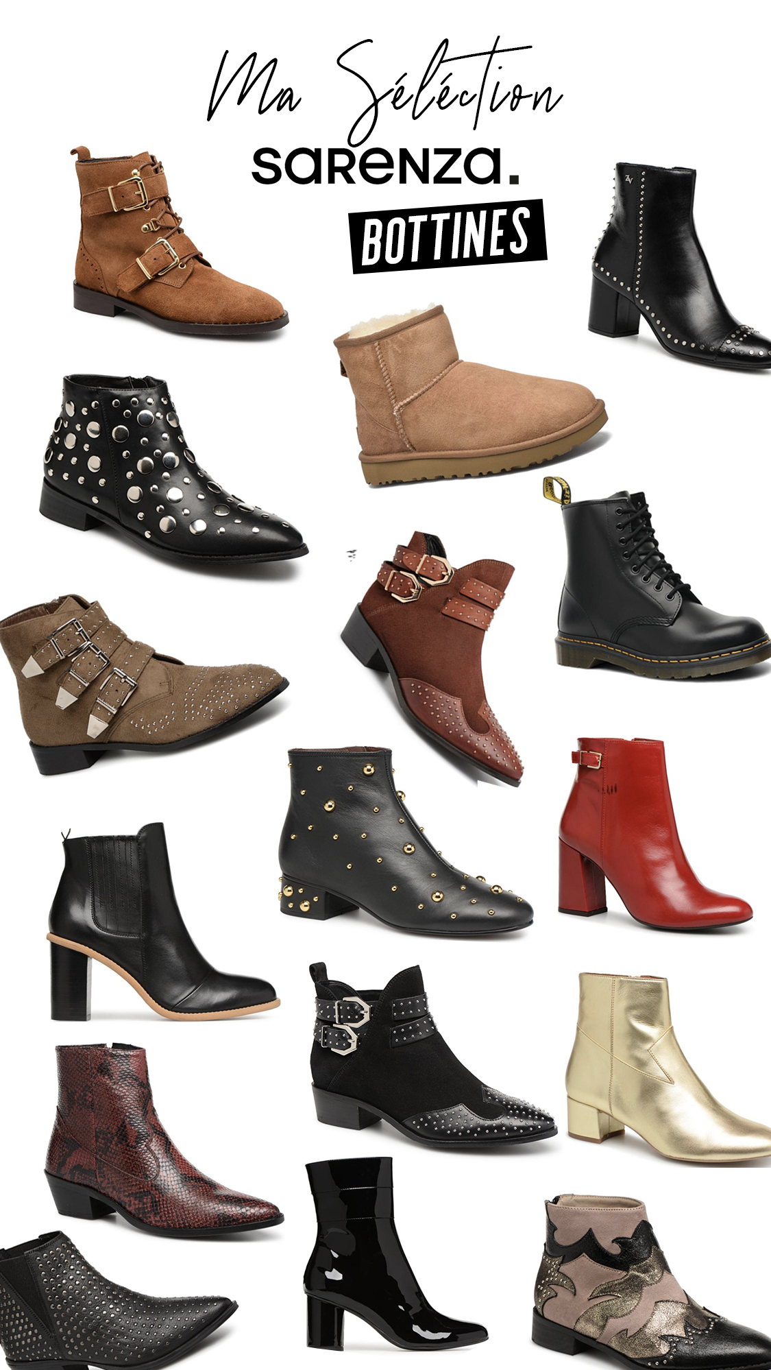 selection boots bottines sarenza meganvlt