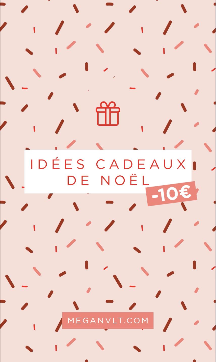 Idées cadeaux de Noël à moins de 10€