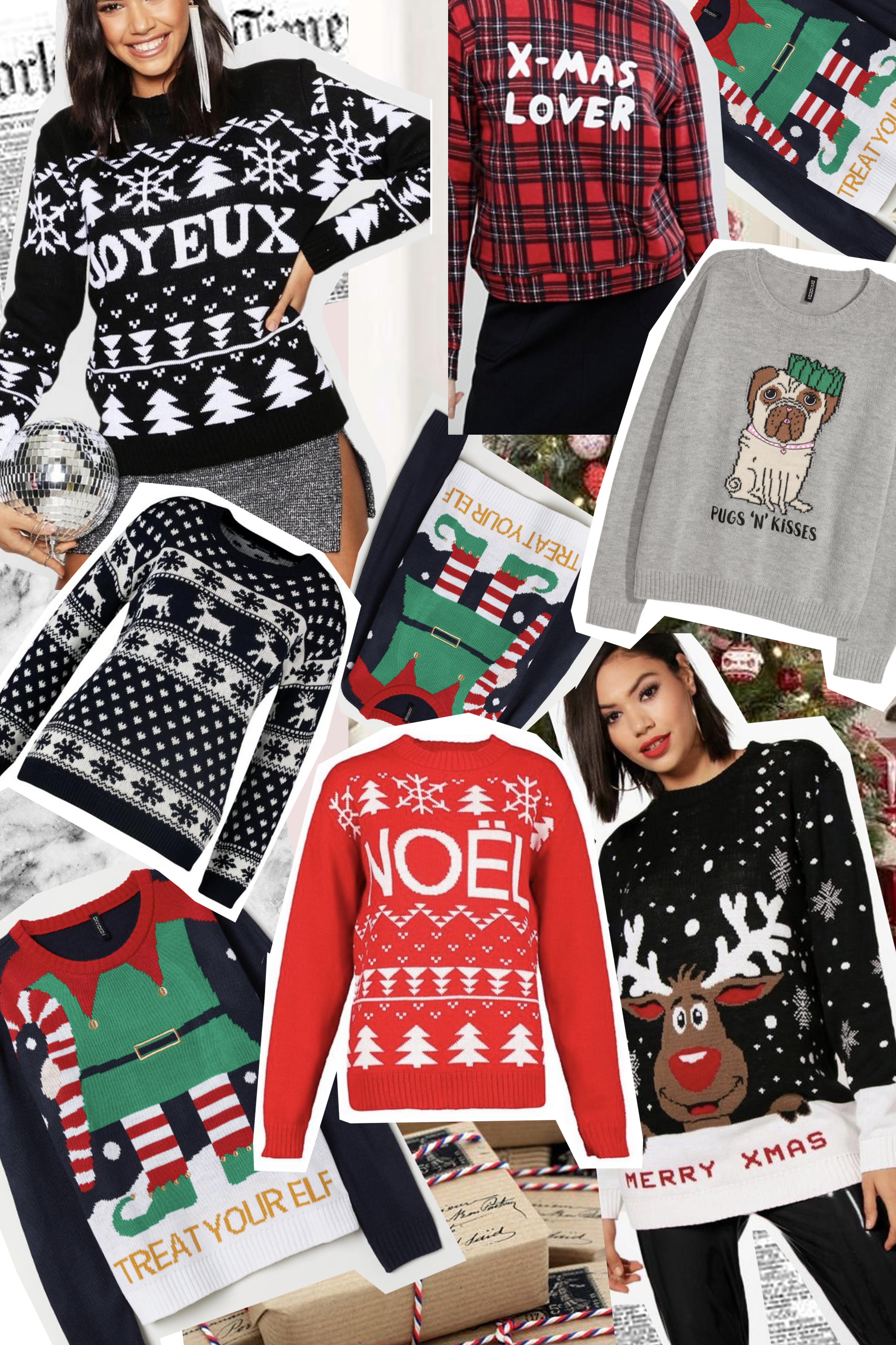 25 pulls de Noël