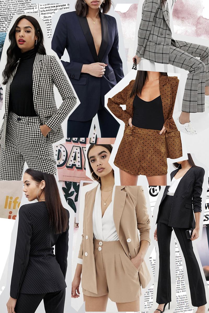 selection shopping tendance tailleurs