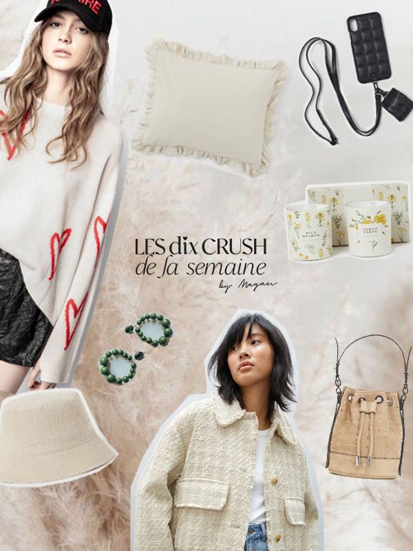 LES 10 CRUSH DE LA SEMAINE